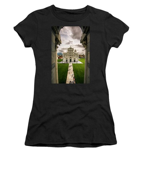 The Pisa Cathedral From The Bapistry Women's T-Shirt