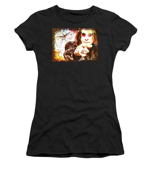 The Prince Of Darkness Women's T-Shirt (Athletic Fit)