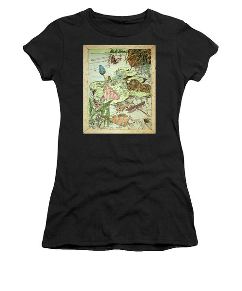 The Princess And The Frogs Women's T-Shirt