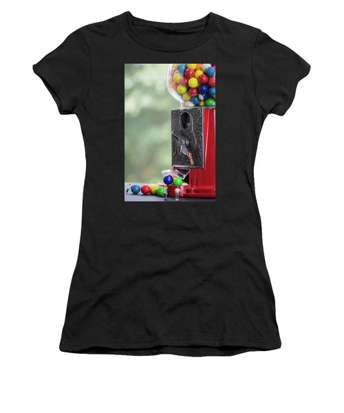 The Problem With Gumball Machines Women's T-Shirt (Athletic Fit)