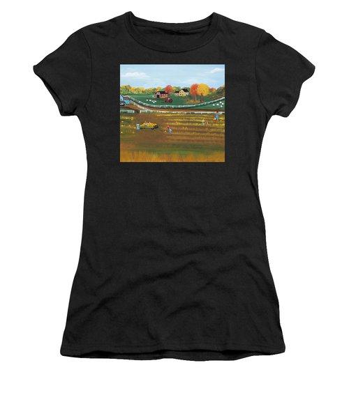 The Pumpkin Patch Women's T-Shirt (Athletic Fit)