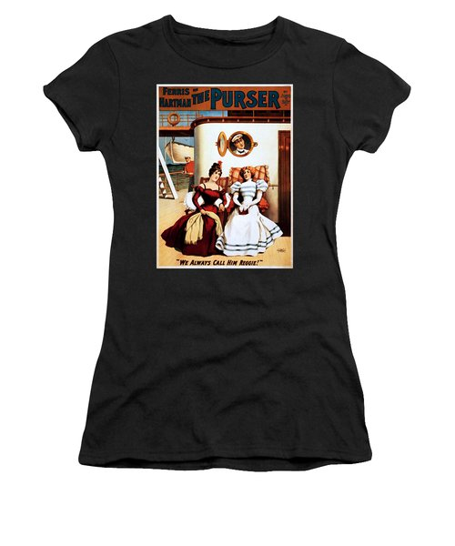 The Purser, Theatrical Poster, 1898 Women's T-Shirt (Athletic Fit)