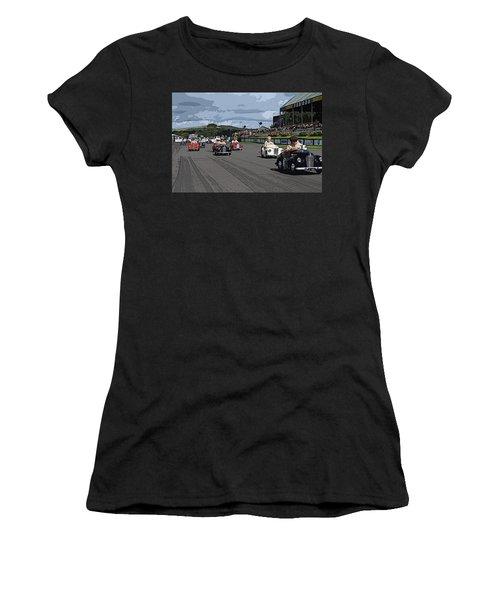 The Race Is On Women's T-Shirt