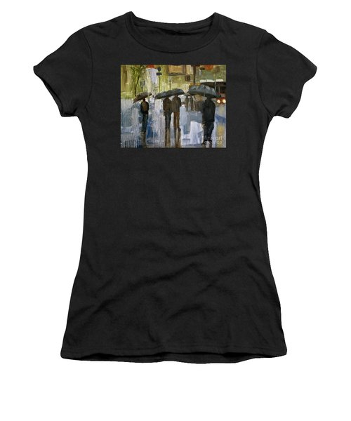 The Rain Came Women's T-Shirt (Athletic Fit)