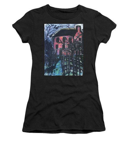 The Red House Women's T-Shirt (Athletic Fit)