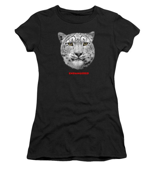 The Red List Women's T-Shirt (Junior Cut) by Linsey Williams