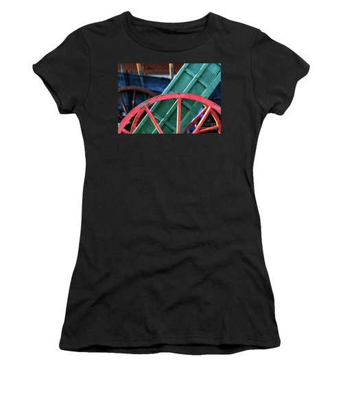 The Red Wagon Wheel Women's T-Shirt
