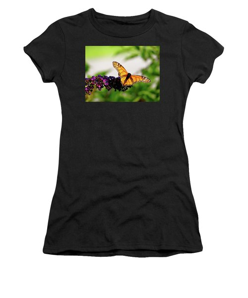 The Resting Monarch Women's T-Shirt