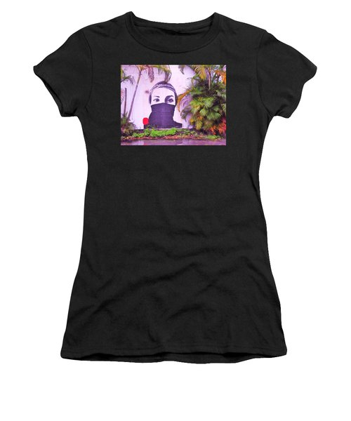 Fighting For Life  Women's T-Shirt (Athletic Fit)