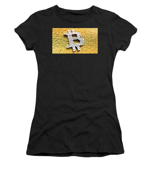 The Rise And Rise Of Bitcoin Women's T-Shirt