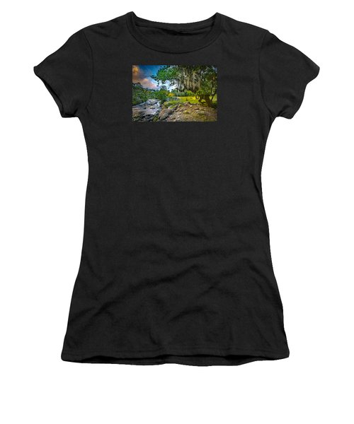 The River At Cocora Women's T-Shirt