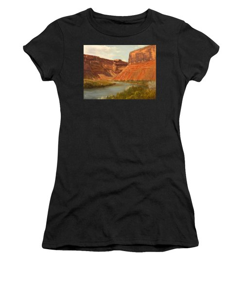 The Road To Moab Women's T-Shirt (Athletic Fit)