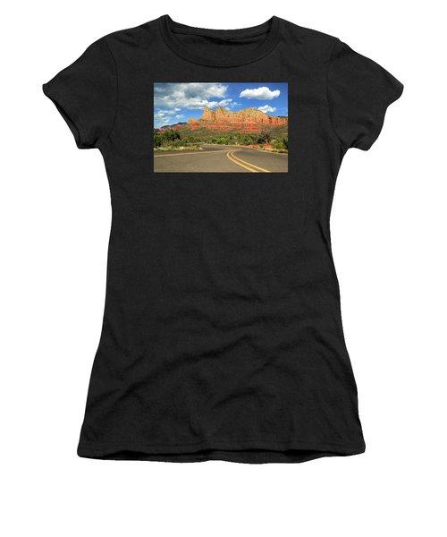 The Road To Sedona Women's T-Shirt
