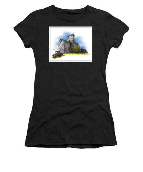 The Ross Elevator Autumn Women's T-Shirt (Athletic Fit)