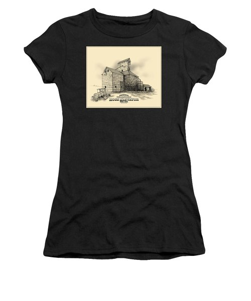 The Ross Elevator Version 2 Women's T-Shirt (Athletic Fit)