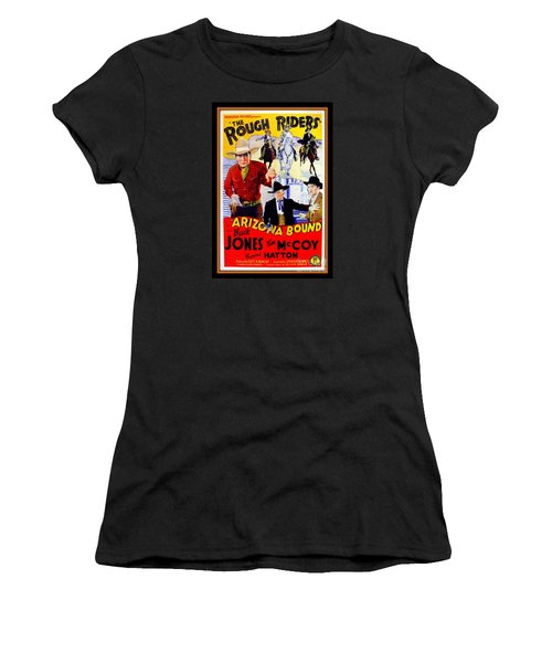 The Rough Riders Women's T-Shirt (Athletic Fit)