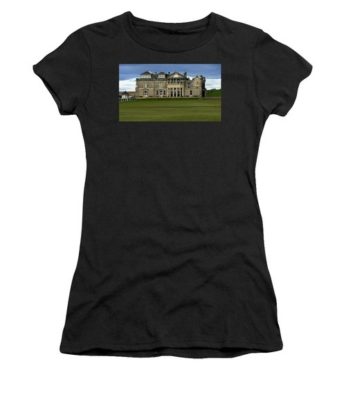The Royal And Ancient St. Andrews Scotland Women's T-Shirt (Athletic Fit)