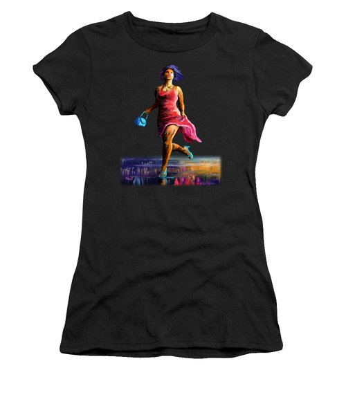 The Runner Women's T-Shirt (Athletic Fit)