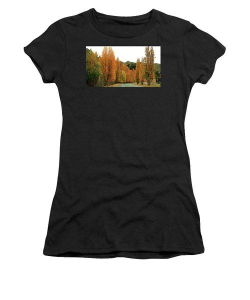 The Russet Tones Of Fall Women's T-Shirt