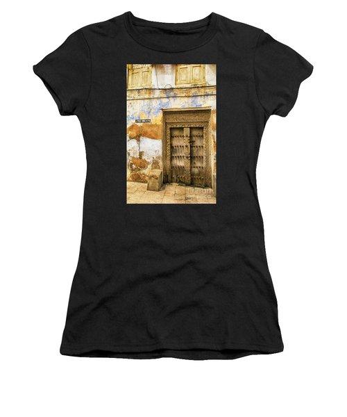 The Rustic Door Women's T-Shirt (Athletic Fit)