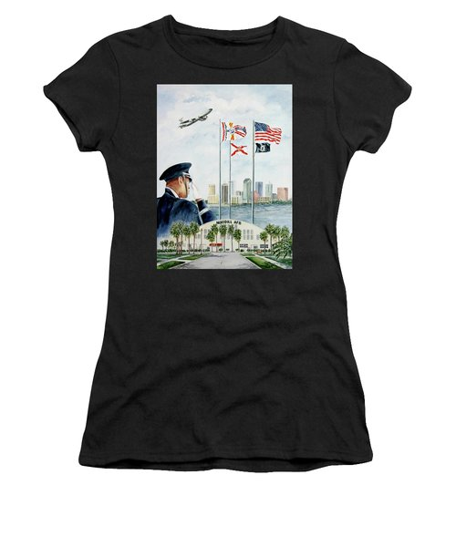The Salute Women's T-Shirt (Athletic Fit)
