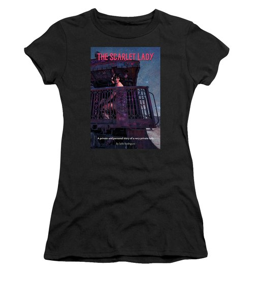 The Scarlet Lady Book Cover Women's T-Shirt