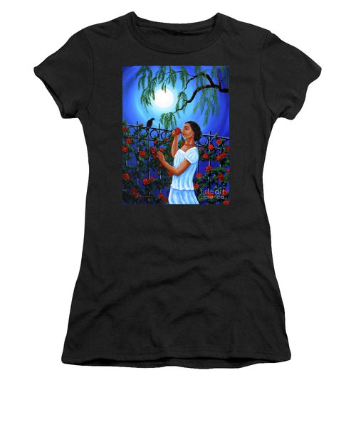 The Scent Of Red Roses Women's T-Shirt