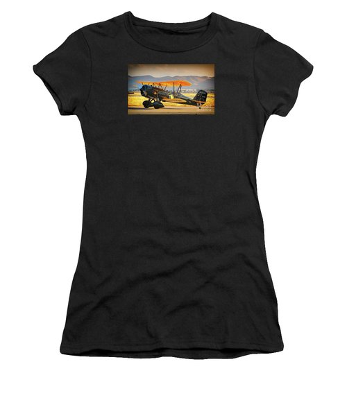 The Scott Familys 1929 Stearman  Version 2 Women's T-Shirt (Athletic Fit)