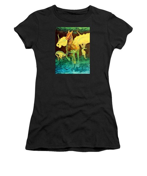 The Seahorse Women's T-Shirt (Athletic Fit)