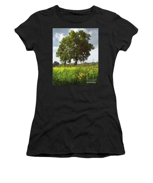 The Shade Tree Women's T-Shirt (Athletic Fit)