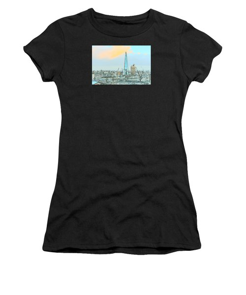 The Shard Outline Poster Women's T-Shirt