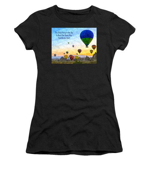 The Ships Hung In The Sky Women's T-Shirt (Athletic Fit)