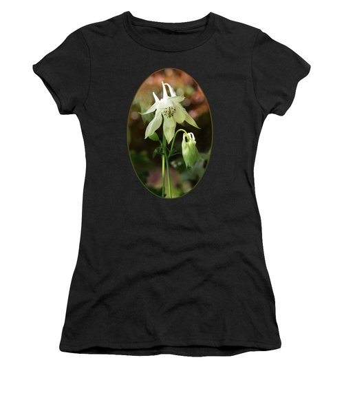 The Shy Aquilegia Women's T-Shirt