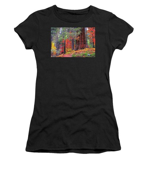 The Small And The Mighty Women's T-Shirt (Athletic Fit)