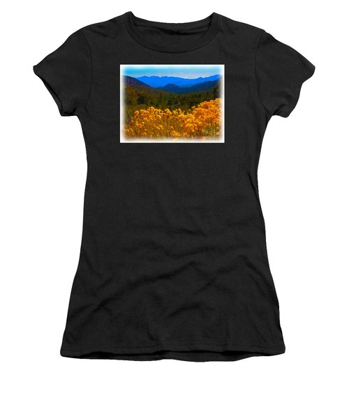 The Spring Mountains Women's T-Shirt (Athletic Fit)