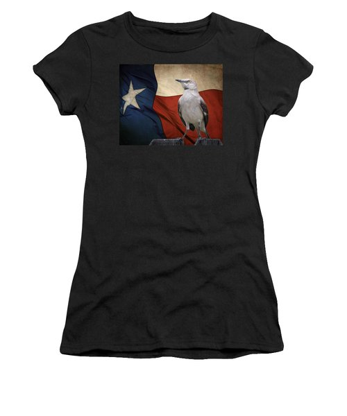 The State Bird Of Texas Women's T-Shirt (Athletic Fit)