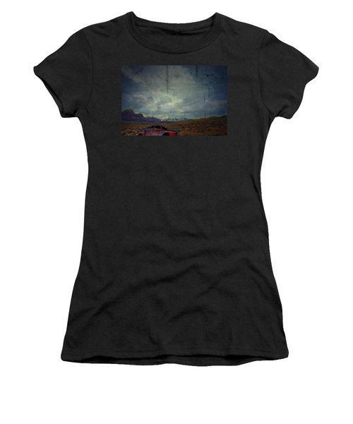 Women's T-Shirt (Junior Cut) featuring the photograph The Story Goes On  by Mark Ross