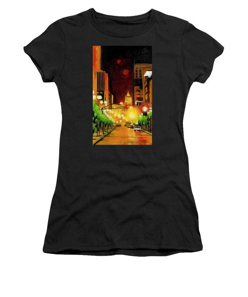 The Streets Run With Crimson And Gold Women's T-Shirt