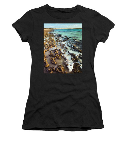 The Stromatolite Family Enjoying Its 1277500000000th Sunset Women's T-Shirt