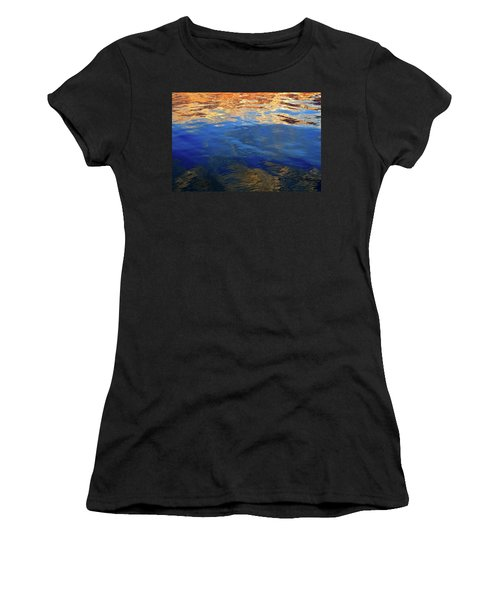 The Surface Is A Reflection  Women's T-Shirt (Athletic Fit)