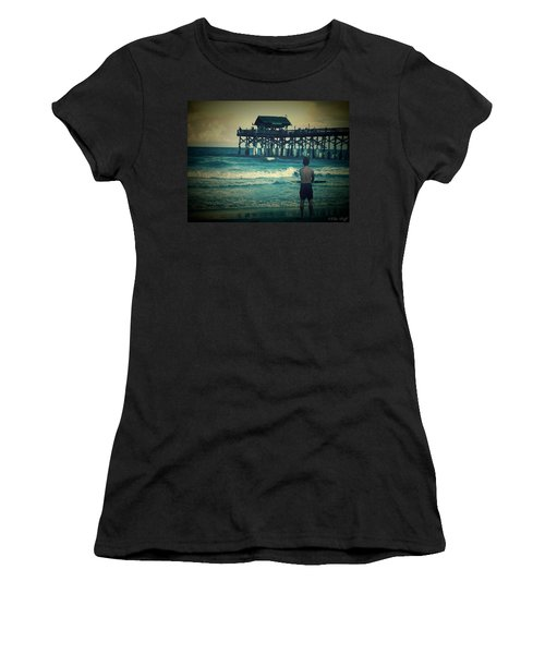 The Surfer Women's T-Shirt (Athletic Fit)