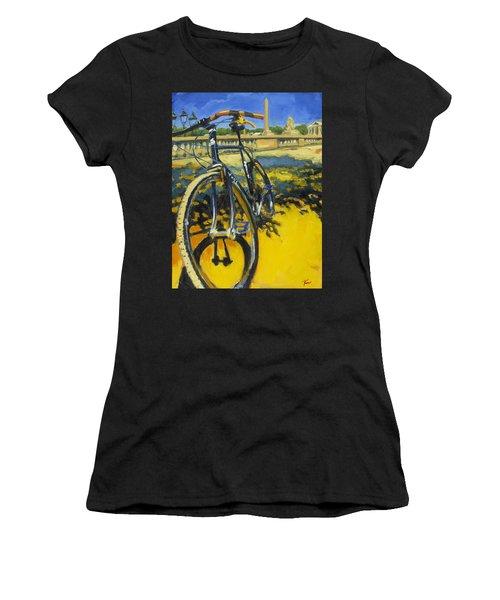 The Surly Bastard In Paris Women's T-Shirt