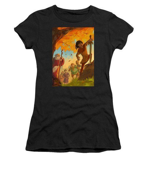 The Sword In The Stone Women's T-Shirt