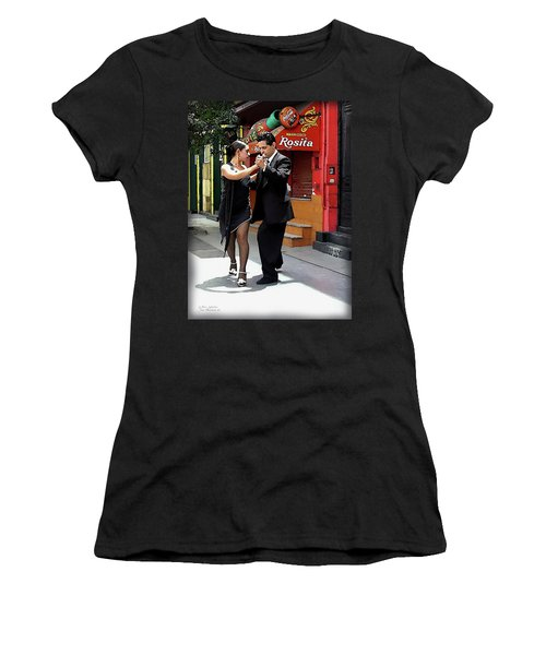 The Tango Women's T-Shirt (Athletic Fit)