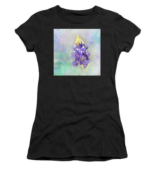 The Texas State Flower The Bluebonnet Women's T-Shirt (Athletic Fit)