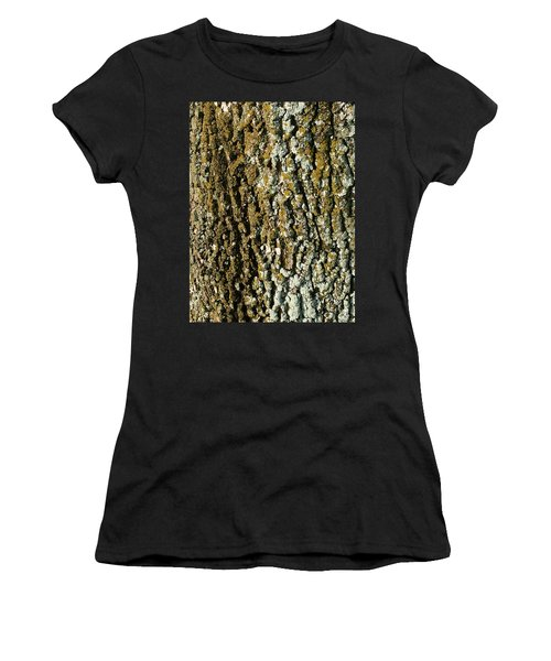 The Texture Is In The Trees2 Women's T-Shirt (Athletic Fit)
