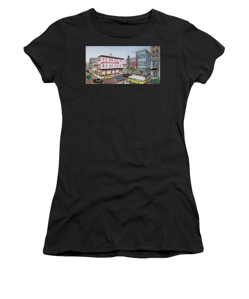 The Theater District Portsmouth Ohio 1948 Women's T-Shirt