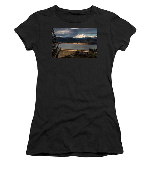 The Three Shasta's Women's T-Shirt (Athletic Fit)