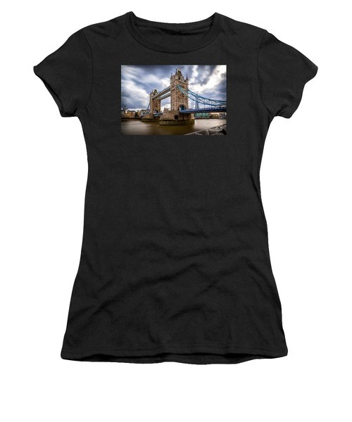 The Three Towers Women's T-Shirt (Athletic Fit)