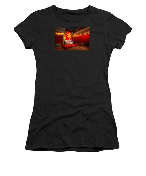 The Throne Room Of Dover Castle Women's T-Shirt